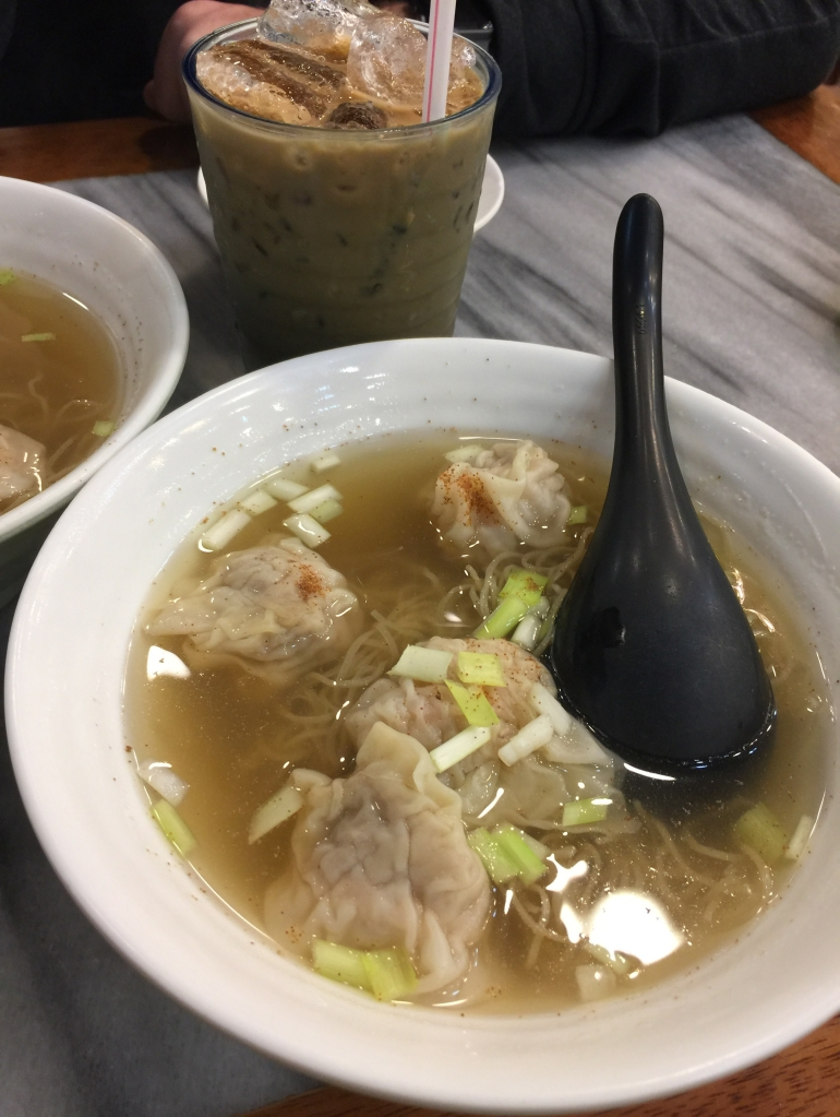 Bamboo noodles at Kwan See