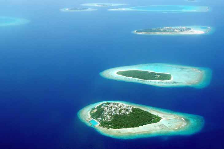 Local Maldives Island