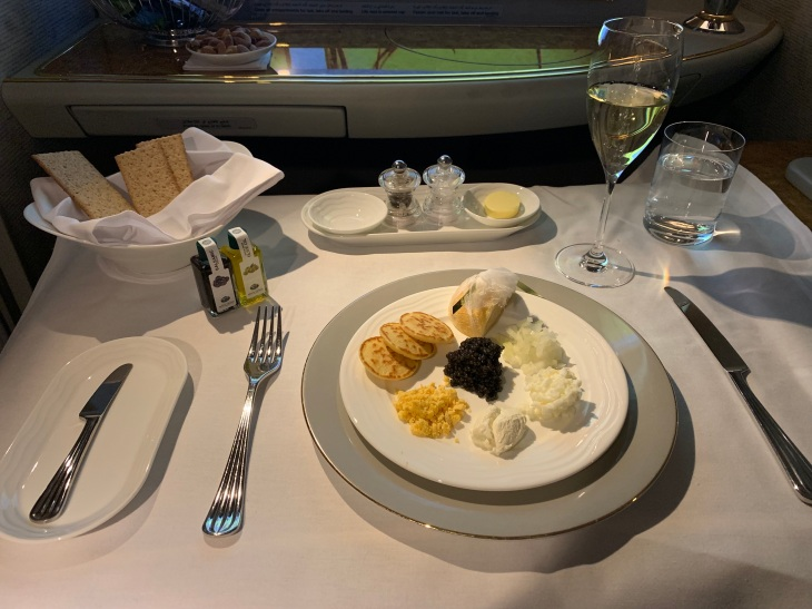 Caviar on Emirates First