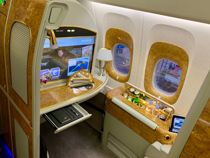 Emirates first class suite Boeing 777-300ER