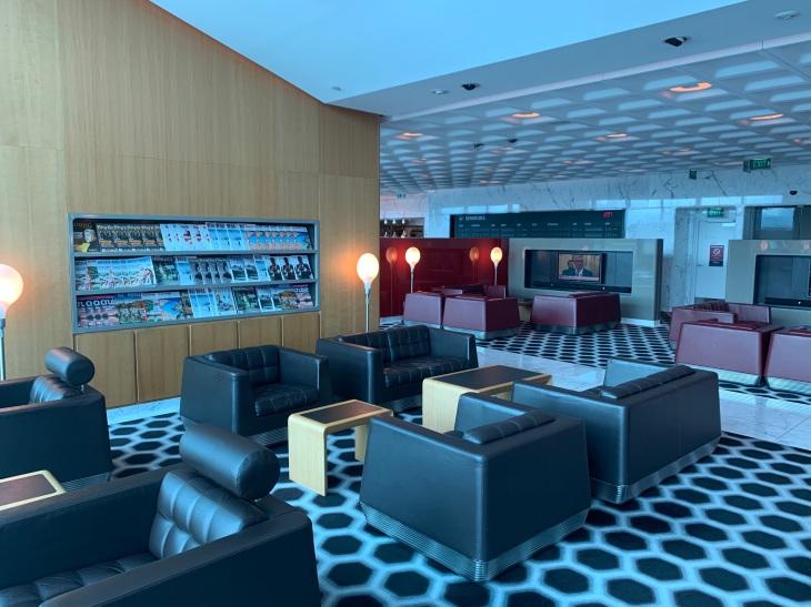 Qantas First Lounge Melbourne
