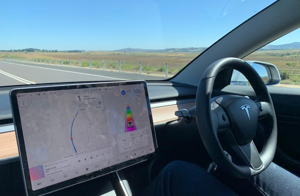 Driving the Tesla Model 3