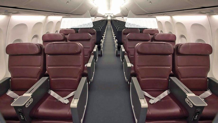 Qantas Boeing 737 layout